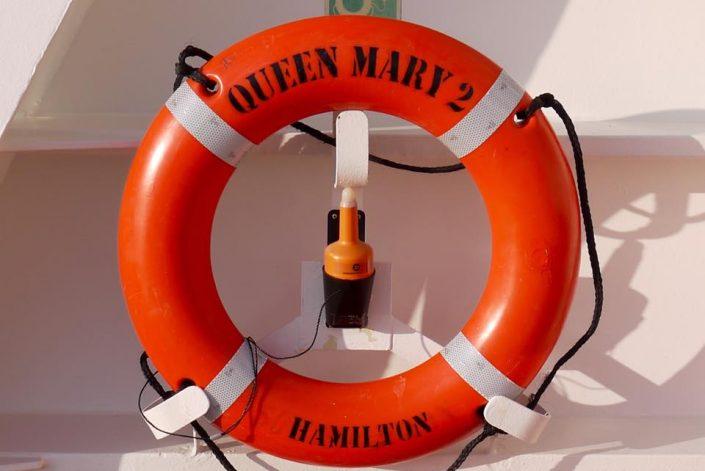 2016 08 25 Queen Mary 2 Rettungsring