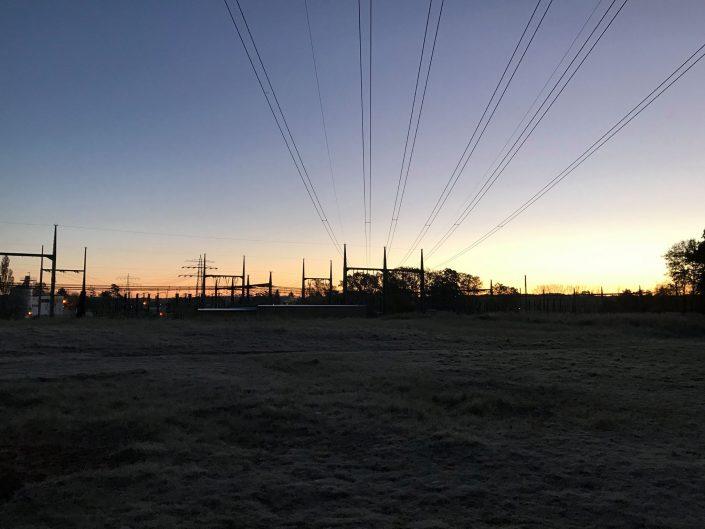2016 11 03 wedel impressionen sonnenaufgang kraftwerk