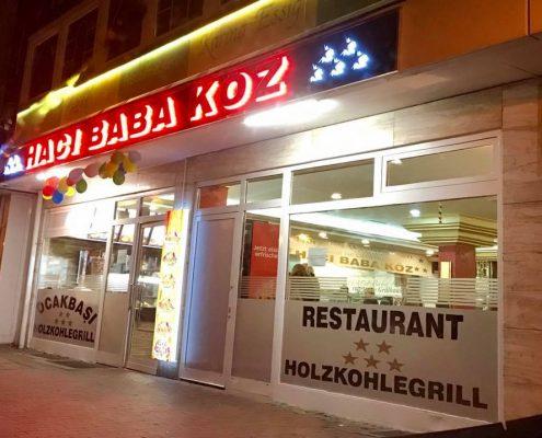 Mein Wedel - Restaurants - Haci Baba Koz Außenansicht