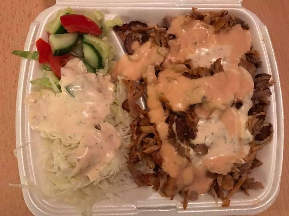 Mein Wedel - Restaurants - Haci Baba Koz Dönerteller ohne Reis