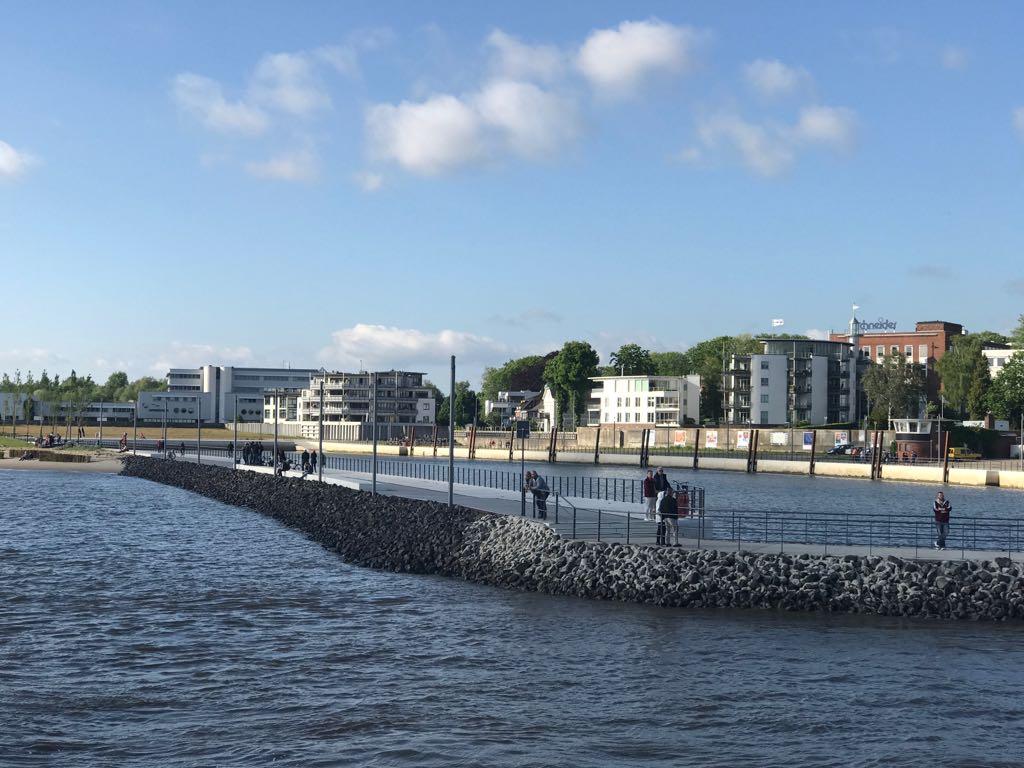 Mein Wedel - Schulauer Hafen im Sommer