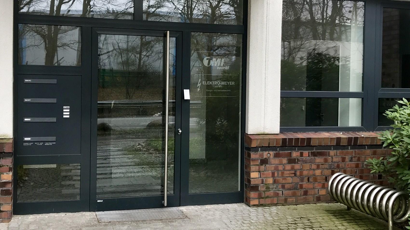 Mein-Wedel-Workspace-Arbeitsplatz-Eingangsbereich-Fahrradständer-Teaser
