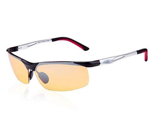 Nachtsichtbrille von Duco Polarisierte Nachtfahrbrille mit Blendschutz