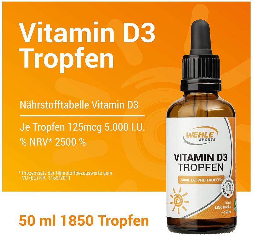 Vitamin D3 Tropfen